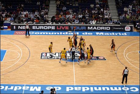 NBA TOUR MADRID 2007