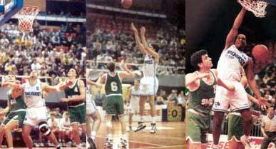TAUGRES BASKONIA vs OLIMPIJA DE LUBLIANA, LAUSANA 1994