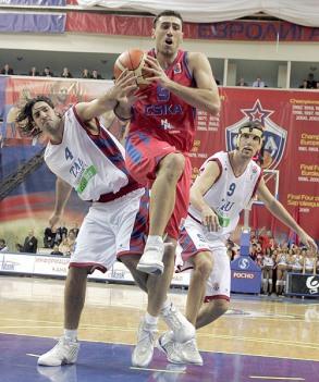Sergi Vidal y Luis Scola