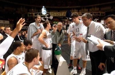 Virtus Bolonia time out