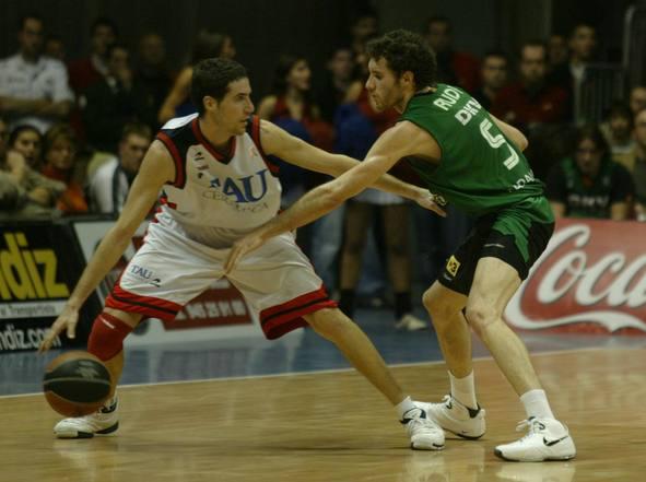 Sergi Vidal y Rudy Fernandez