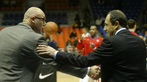 Neven Spahija y Ettore Messina