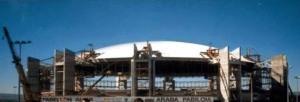 Ampliación pabellón Araba a Fernando Buesa Arena en el verano 98