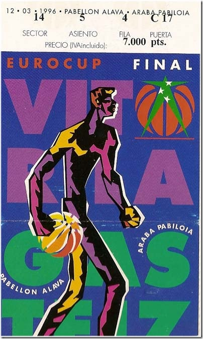 12 Marzo de 1996, hace 15 años que el Baskonia ganó la Recopa de Europa Finalcopaeuropa96_thumb