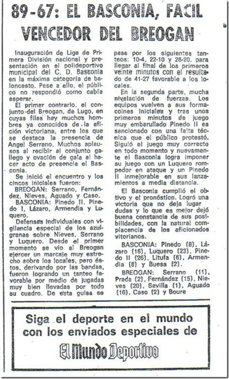 40 Aniversario del debut del Baskonia en la Liga. Baskoniabreogan72_thumb