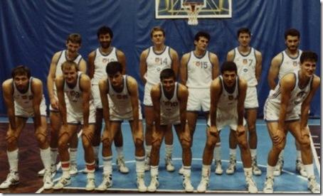 YUGOSLAVIAequipo1988
